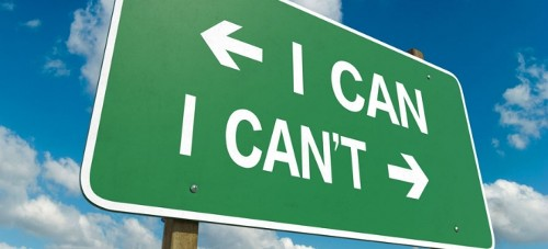 I Can vs. I Can't